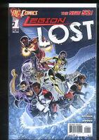 Legion Lost 1 NM (2011) New 52  Dc Comics CBX1B