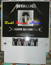 CARTONATO PROMO METALLICA Death magnetic 68 X 53 CM cd dvd vhs lp live mc
