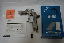 Quick Shipping ANEST IWATA W-400 W400 132G 1.3mm Gravity Spray Gun without Cup