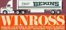 Bekins Excellence in Moving '90 Winross Truck