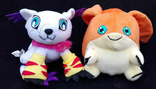 Official Digimon 2 X  6 inch plush Toys Patamon Gabumon | Nice condition
