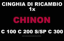 ★CINGHIA DI RICAMBIO MOTORE 1 x PROIETTORE 8 mm CHINON C 100,C 200 S/SP,C 300 ★