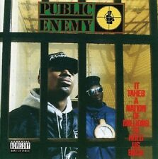 Public Enemy It Takes A Nation Of Millions To Hold Us Back CD NEW SEALED 2000