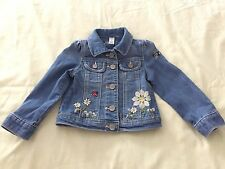 Toddler Baby Gap 1969 Girls Denim Jean Jacket Size 2T EUC