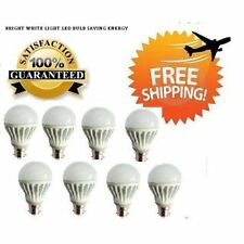 LED Bulb - Set of 8 pcs - 7 Watt - White - **Lowest Price - Highest Quality**