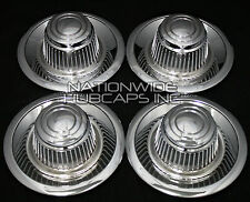 Set of 4 Chevy GM Rally Wheel Center Hub Caps 15x8 15x7 Rim Derby Cap Trim Rings
