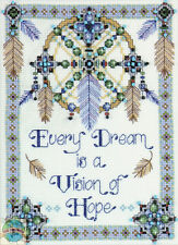 Cross Stitch Kit Design Works Native American Vision of Hope (COUNTED) #DW2354