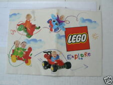 LEGO BROCHURE FLYER CATALOG TOYS 2002 EXPLORE DUTCH 16 PAGES 072