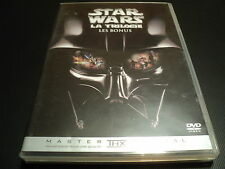 "DVD ""STAR WARS, LA TRILOGIE - LES BONUS"" documentaire"