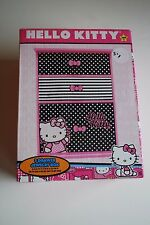 NEW IN BOX Hello Kitty 3 Drawer Jewelry Box 8+ Age Gift Pink CUTE!