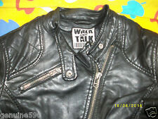 BLOUSON perfecto WALK & TALK  simili CUIR T-S  leather  JACKET