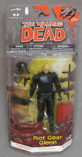 The Walking Dead Riot Gear Glenn Action Figure - Comic Book Series 2