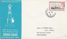 FALKLAND Is 1964 2.5d SG215 SHIP Stamp FIRST DAY COVER Port Stanly PMK Ref:378
