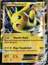 Pikachu EX XY174 XY Black Star HOLO Promo NEAR MINT Pokemon Card ULTRA RARE