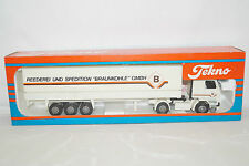 Tekno Reederei Braunkohle GMBH  Scania 142m ca 1/50 neu in OVP LKW LASTER TRUCK