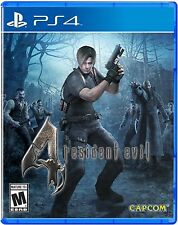 PS4 Game Resident Evil 4 HD NIP Playstation 4 Package shipping