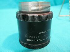 "BUHL OPTICAL 6"" FOCUS PROJECTION LENS ANASTIGMAT"