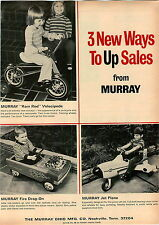 1970 ADVERT Murray Pedal Cars Jet Plane Tarot Cards US Games