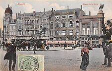 B92136 anvers belgium place de la gare chariot