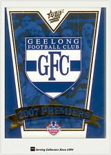 Select 2007 Geelong AFL Premiership Limited Edition Commemorative Set (25)