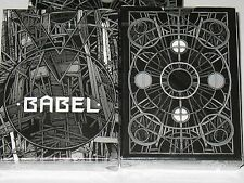 Babel Black Deck by Card Experiment USPCC Playing Cards Bicycle Poker Magic