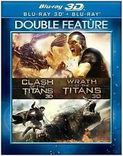 Clash of the Titans/Wrath of the Titans (Blu-ray Disc, 2014, 3D/2D)