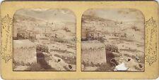 Nazareth Israël Palestine Stéréo Diorama Stereoview Tissue Vintage albumine