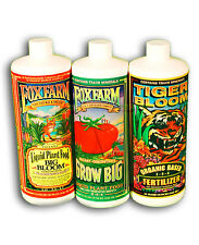 FOX Farm TRIPLE PACK 100ml Tigre Bloom, crescere, Big Bloom / WOW!