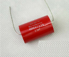 Audiophiler 3.3uF 400V Tubular Axial Audio Capacitor