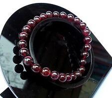 Bracelet en Grenat Pierre Minéral Naturelle Lithothérapie Bijoux Pour Femme
