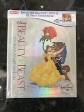 Beauty And The Beast Blu Ray DVD Digital HD 25th Anniversary Story Book Target