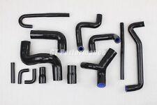 BMW M3 E30 13 hoses Silicone set COOLING hose kit Motorsport 2.3 BLACK