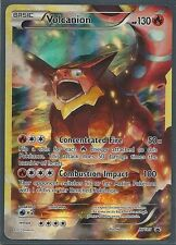 RARE VOLCANION XY185- FULL ART- MYTHICAL PROMO HOLO Pokemon Card -NEW MINT