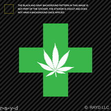420 Medical Marijuana Sticker Decal Self Adhesive Vinyl bud cannabis medicinal