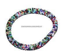 Nepal Bracelet glass seed beads bracelet Roll on Bracelets Crochet bracelet G816