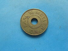 KARL W MULLER GERMANY ? KG GOLD COLOURED COIN TOKEN