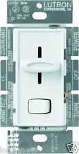 Lutron S-10P-WH Skylark   Dimmer with On/Off Switch, 1000-watt, WHITE