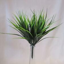 Plantas de césped artificial de Vainilla 30cm-Verde Dos Tonos-planta de plástico decorativa