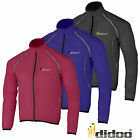 Didoo Mens Waterproof Lightweight High Visibility Running/Cycling Rain Jacket