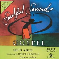Detrick Haddon & Darwin Hobbs - He's Able - Accompaniment CD New