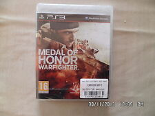 JEU PLAYSTATION 3 PS3 : MEDAL OF HONOR WARFIGHTER Neuf E86