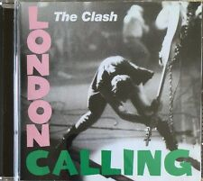 THE CLASH LONDON CALLING CD EPIC SONY 1999 USA PRESSING REMASTERED