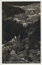 Mühlbachtal, Sachsenberg-Georgenthal bei Klingenthal, Vogtland, Foto Ak von 1937