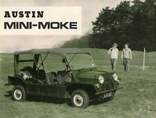 Austin Mini Moke 1966-67 UK Market Sales Brochure