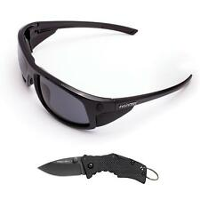 Cold Steel Battle Shades Mark I Sunglasses Gloss Black w/ Micro Recon EWDS11