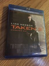 Taken 2 (Blu-ray/DVD, 2013, 2-Disc Set, Unrated Cut