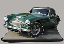 MODEL CARS, AUSTIN HEALEY -01, car passenger,11,8x 7,8 inches  with Clock