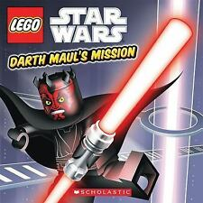 Lego Star Wars: Darth Maul's Mission by Ace Landers (2011, Paperback)