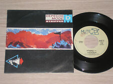 "DEPECHE MODE - STRIPPED / BUT NOT TONIGHT - 45 GIRI 7"" ITALY"