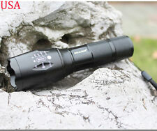 2000 Lumen CREE XM-L T6 LED Flashlight Torch Zoomable Lamp Light SuperBright New